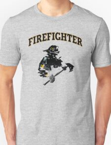 Brush with a Firefighter T-Shirt