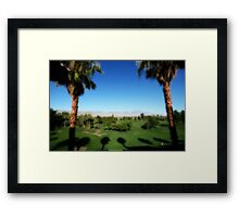 As Far As I Can See Framed Print