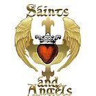 Saints and Angels by Rowan  Lewgalon