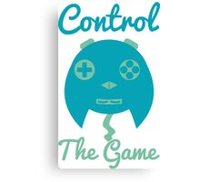 Control The Game! Canvas Print