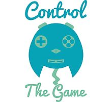 Control The Game! Photographic Print