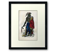 Native American  #4 Framed Print