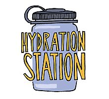 Hydration Station Photographic Print