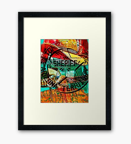 Lawman Framed Print