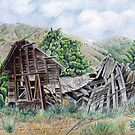 Old House. by Valentina Gatewood