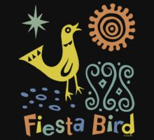 fiesta bird - dark Kids Clothes