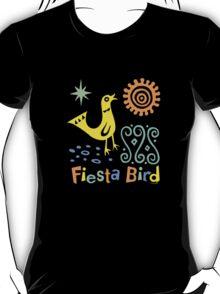 fiesta bird - dark T-Shirt