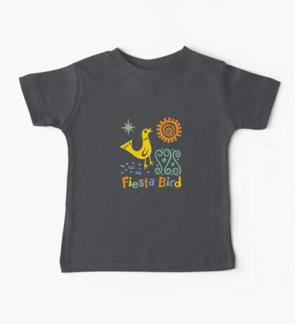 fiesta bird - dark Baby Tee