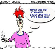 LOUD MOUTH LOUISE THE MORNING AFTER by URBANRATS