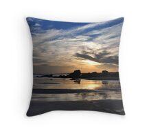 Moody Sunset - Redhead Beach NSW Throw Pillow