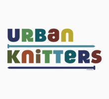 Urban Knitters - blues by Andi Bird