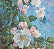 Apple blossom by Vera Kalinovska