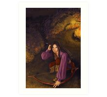 Dark ages: never trust to stranger :) Art Print