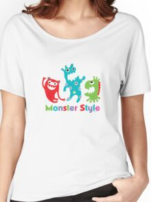 Monster Style - light Women's Relaxed Fit T-Shirt