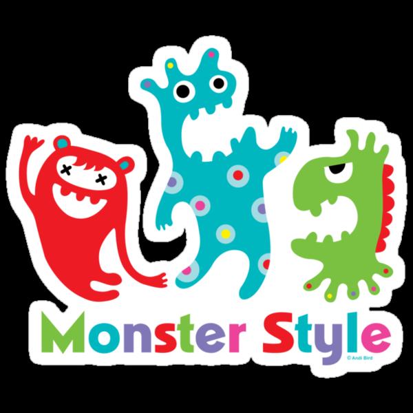 Monster Style - light by Andi Bird