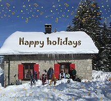happy holidays by Fran E.