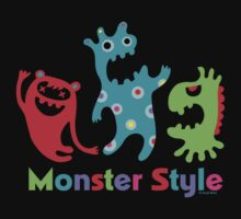 Monster Style - dark by Andi Bird