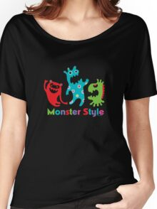 Monster Style - dark Women's Relaxed Fit T-Shirt