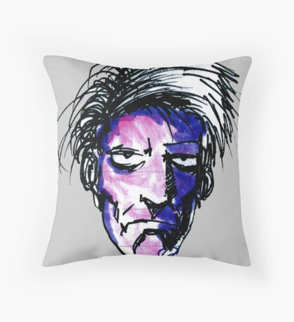 Jack the only just not undead. Throw Pillow