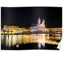 Luzern by night Poster
