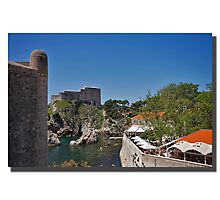 The outskirts of Dubrovnik Photographic Print