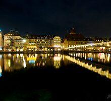 Luzern by night by Mario Curcio