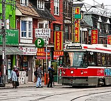 The 504 at Dundas East by Marilyn Cornwell