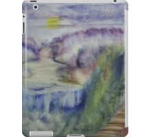 Landscape in an experimental technique iPad Case/Skin