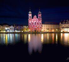 Red Church by Mario Curcio