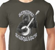 SINGING SASQUATCH Unisex T-Shirt