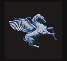 Blue Pegasus by SpecialTees