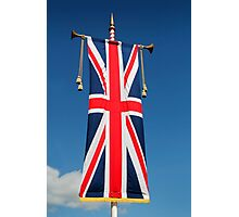 Flag of the United Kingdom Photographic Print