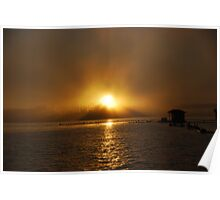 Sun through the Fog Poster