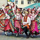 Belarus Folk Dancers by James Larson