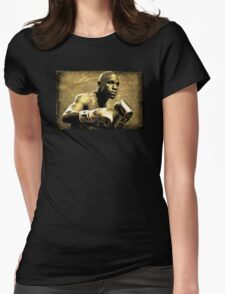 Floyd Mayweather, Jr -Money Womens Fitted T-Shirt