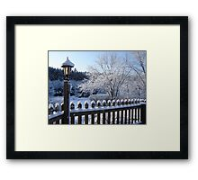 Morning After the Storm  Framed Print