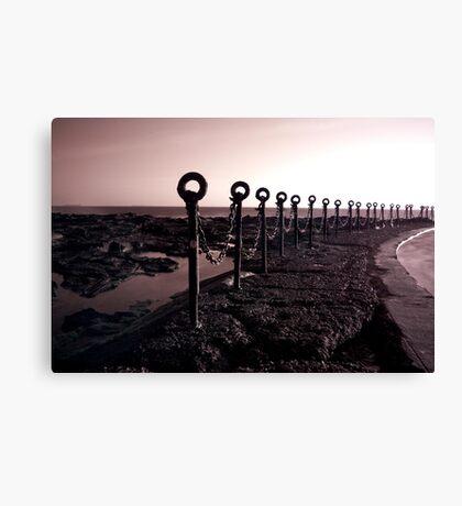 Newcastle Ocean Baths 3 Canvas Print