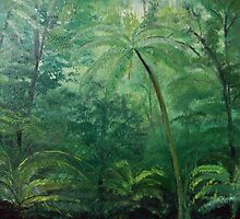 Rain forest by Monika Howarth