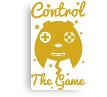 Control The Game, Gold Party! Canvas Print