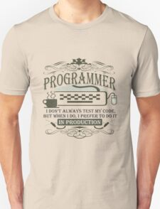 Production Programmer T-Shirt