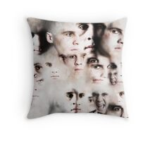 Every Man Has Many Faces Throw Pillow