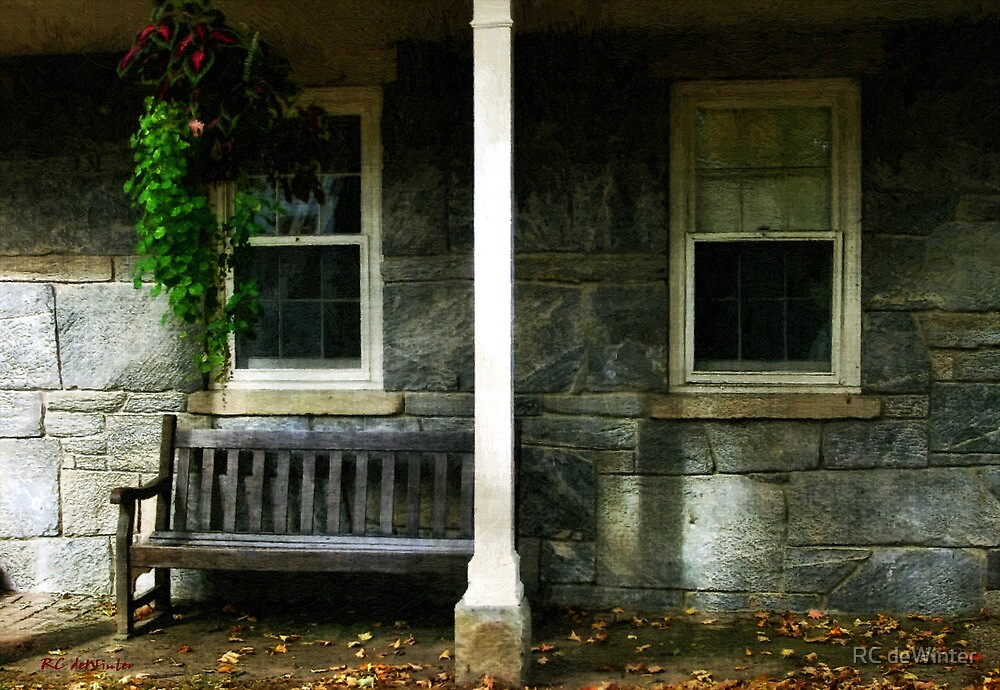 Late Afternoon in Autumn by RC deWinter