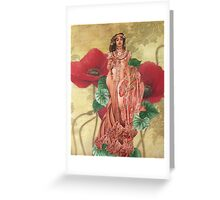 Fevered Dreams Greeting Card