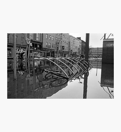WaterBike Rider Photographic Print