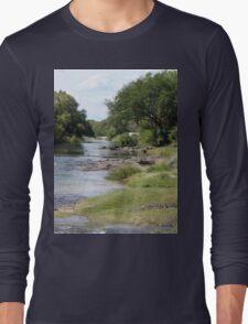 a vast Zambia landscape Long Sleeve T-Shirt