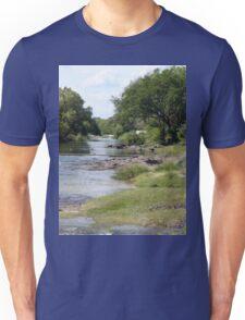 a vast Zambia landscape Unisex T-Shirt