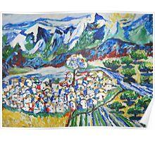 Village of Cerinta Poster
