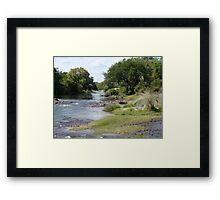 a vast Zambia landscape Framed Print