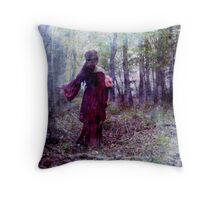 The Woods Speak Throw Pillow