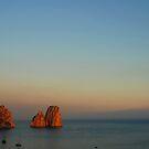 Faraglioni. Sunset by andreisky